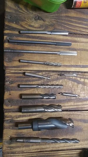 End mill bites counter sinks & drill bits for Sale in Calipatria, CA