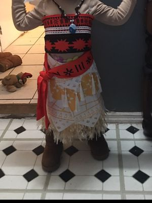 Toddler Moana Costume for Sale in Springfield, MA