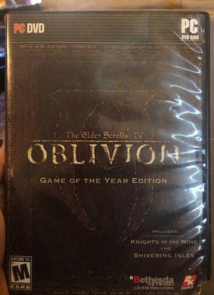 Oblivion for PC for Sale in Tempe, AZ