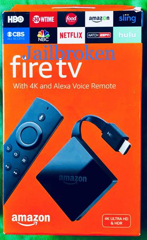 Fire TV Mini Box or Stick with everything and more. Message for details. Pickup today only in Elizabeth today for Sale in Elizabeth, NJ