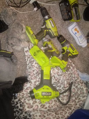 Ryobi power tools whole sale or separate make offer for Sale in Houston, TX
