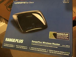 Linksys Cisco Wireless G Range Plus Router WiFi for Sale in Portland, OR