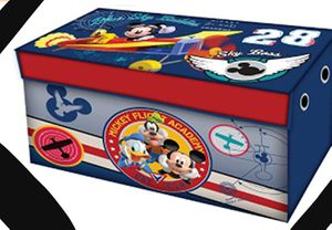 New!! Disney Mickey Mousse collapsible toys trunk, toys box, toys storage unit, kids toys storage unit for Sale in Phoenix, AZ