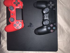 Ps4 with two brand new controllers for Sale in Santa Rosa, CA