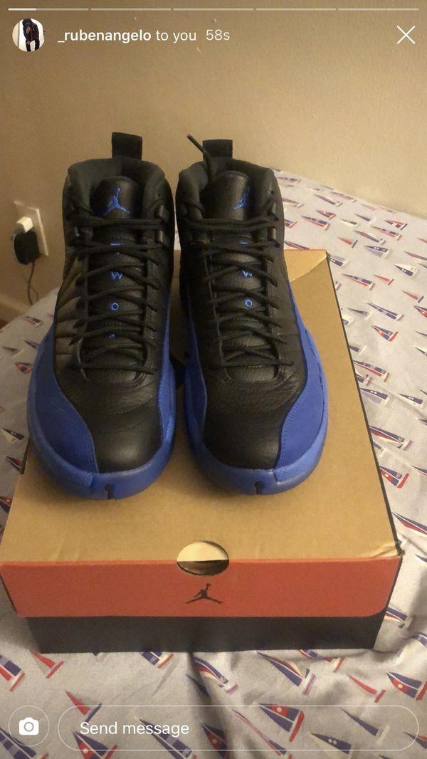 Jordan 12 Royal blue size 9.5