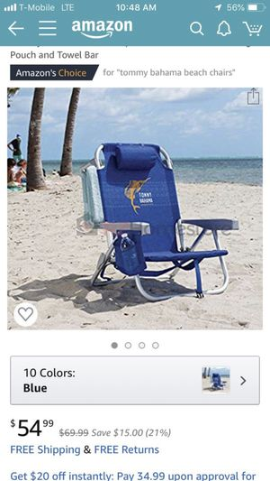 Tommy Bahamas beach chair for Sale in Los Angeles, CA