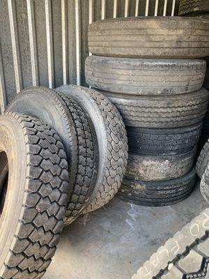 Tires for semi trucks for Sale in Denver, CO