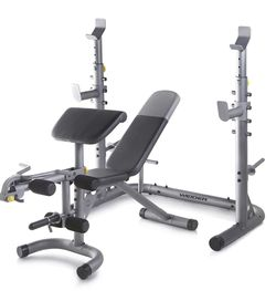 Weider — XRS 20 Olympic Workout Bench w/Independent Squat Rack & Preacher for Sale in Santa Ana,  CA