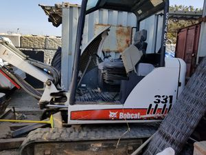 Bobcat Excavator 331 2008 700hrs only for Sale in Millbrae, CA