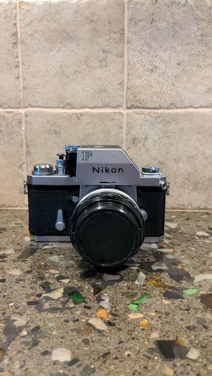 Nikon f photomic-50mm sc 1.4 for Sale in Edgewood, WA