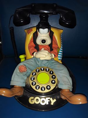Limited edition Disney Goofy Phone for Sale in Detroit, MI
