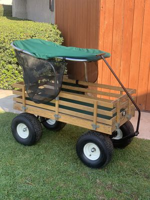 Wagon cart wheels for Sale in Ontario, CA