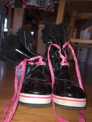 Justice Black & Pink Snow boots for Sale in Bloomingdale, IL
