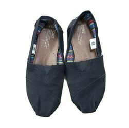 Toms Size 9.5 Black Canvas Slip On Shoes for Sale in Redmond,  WA