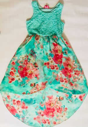 Girls Flower print dress size 8 for Sale in Alton, IL