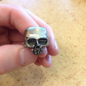 Death Skull Ring Achemy Gothic Size Q (8.5) for Sale in Fort Lauderdale, FL