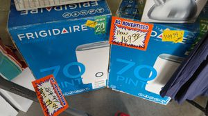New 70-pint dehumidifiers $149.99 pay online get delivery for Sale in Phoenix, AZ