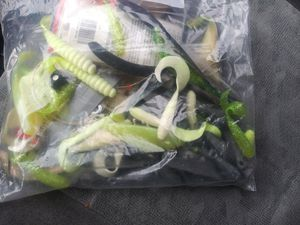 Bag of Fishing stuff for Sale in Glen Burnie, MD