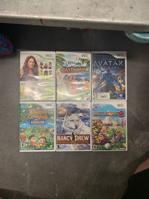 Wii games for Sale in Sheridan, CO