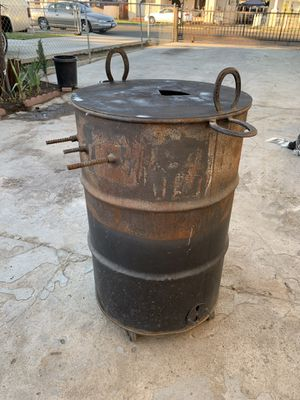 Barrel BBQ Grill for Sale in Fresno, CA