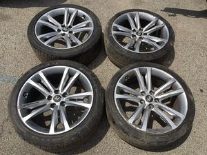 TIRES & RIMS FOR GENESIS COUPE for Sale in Chicago, IL