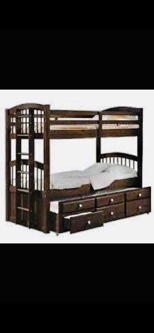 Brand new Space Saver Triple Bunk Bed for Sale in Milwaukee, WI