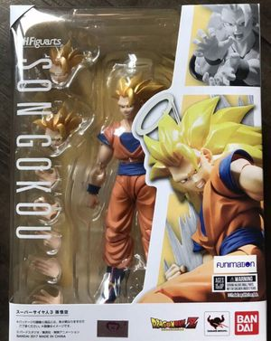 Dragon ball z sh figuarts super saiyan 3 goku figure for Sale in Costa Mesa, CA