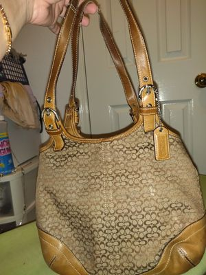 REDUCED! Coach 3 piece purse/wallet/check book for Sale in Houston, TX