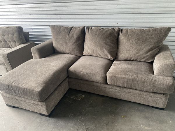 Neutral colored couch With Chaise