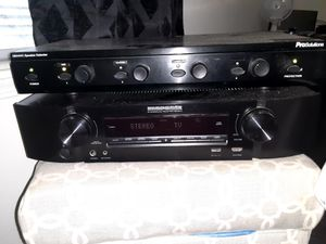 Marantz receiver. And a Prosolutions SBX4VC for Sale in Peabody, MA