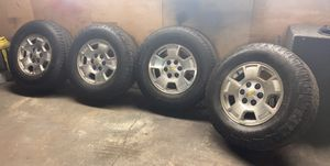 "17"" silverado wheels for Sale in Chicago, IL"