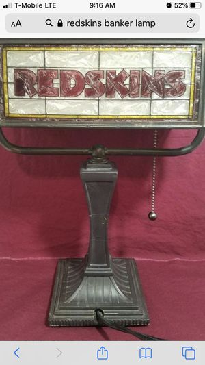 Redskins Lamp (Light Use) for Sale in Frederick, MD