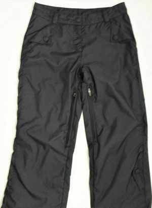 WOMENS 8 (Medium) OBERMEYER Method Black Insulated Ski Snowboard Pants Vent Zippers for Sale in Phoenix, AZ