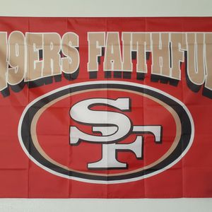 49ers Regular Size Flag for Sale in Madera, CA
