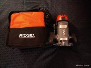 """Ridgid Router 1/2"""" width for Sale in Tampa, FL"""