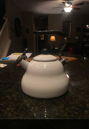 Farberware white kettle for Sale in Boring, OR