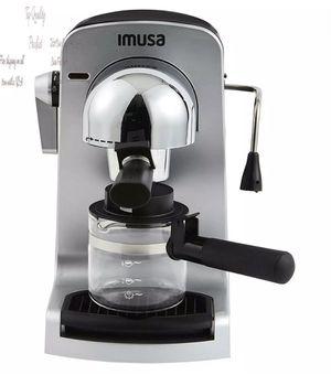 Imusa Usa Gau-18215 4 Cup Bistro Electric Espresso/Cappuccino Maker With Carafe, for Sale in Aurora, IL