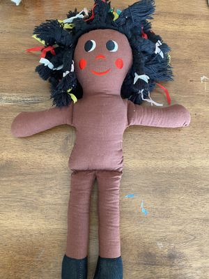 Vintage Handmade Black Baby Doll for Sale in Des Moines, WA