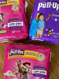 Lot Of 3 Pampers Brand New Buggies Pull Ups 12-24m for Sale in Lakewood,  CA