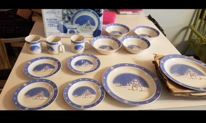 Dish set for Sale in MONTGMRY,  IL