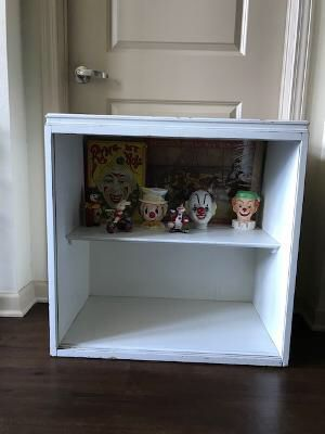Vintage Shabby Chic Display Cabinet for Sale in Tampa, FL