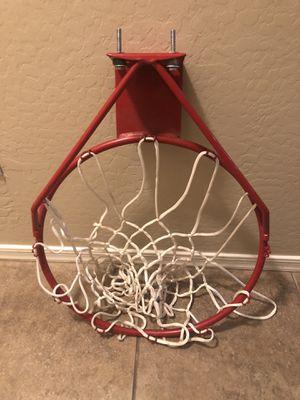 Heavy duty metal basketball hoop $30 firm for Sale in Laveen Village, AZ