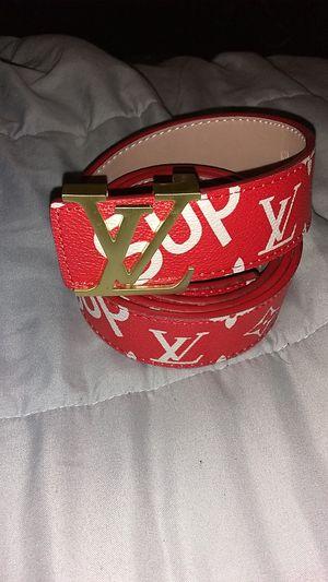 Supeme Louis Vuitton belt for Sale in Tucson, AZ