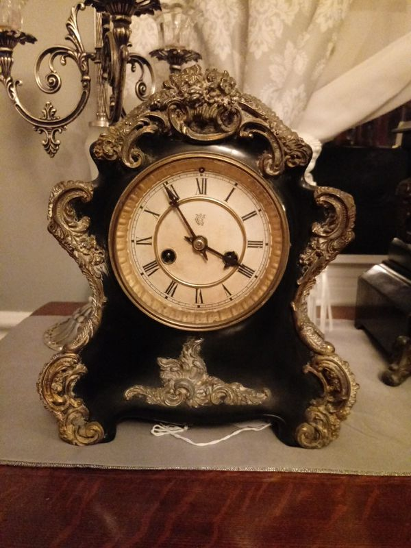 Waterbury Sicily 1891 mantel clock