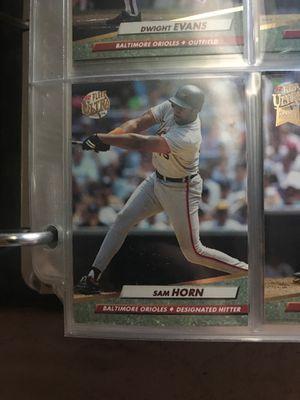 '92 Sam Horn Baltimore Orioles designated hitter for Sale in Abbottstown, PA