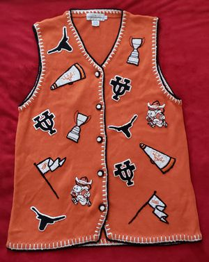 Vintage UT Embroidered Sweater Vest for Sale in Wells Branch, TX