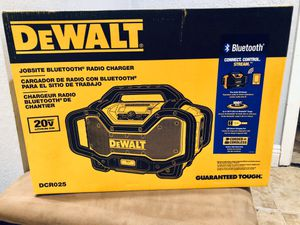 20-Volt MAX or FLEXVOLT 60-Volt MAX Lithium-Ion Bluetooth Radio with built-in Charger for Sale in Covina, CA