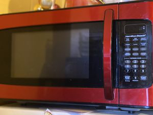 Red Microwave for Sale in Lancaster, PA