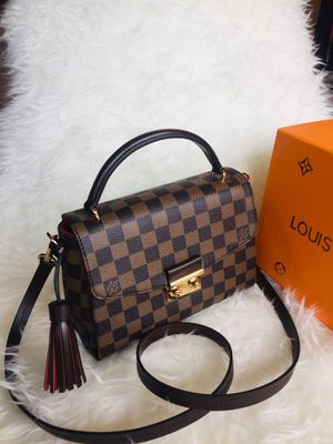 Louis Vuitton LV Damier Ebene Crossbody Bag Purse Handbag for Sale in Wheaton, IL
