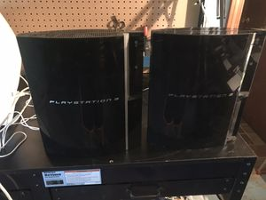 2 PS3 systems (not tested) for Sale in Salem, NH